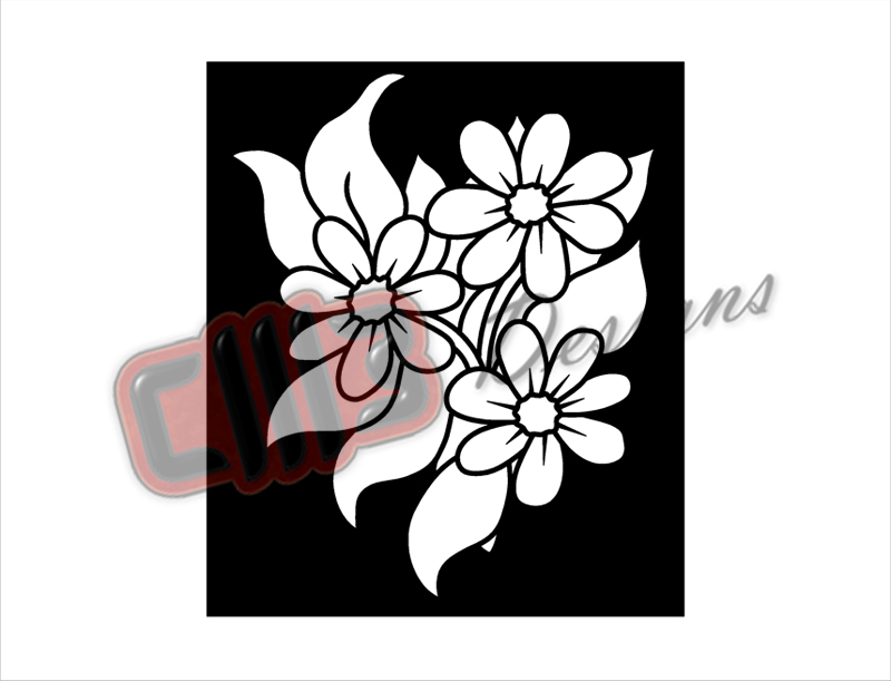 Flowers Blooming 2 Wall Art Panel