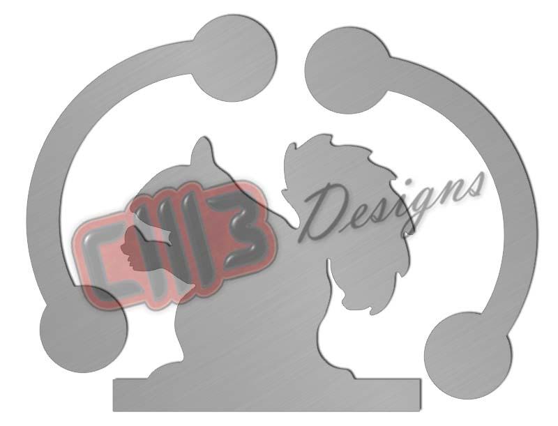 Rocking Squirrel 2 Range Shooting Target DXF designs