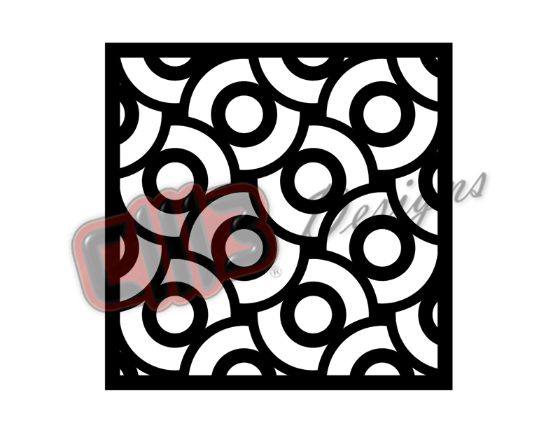 Art Deco Wall Art Panel Design