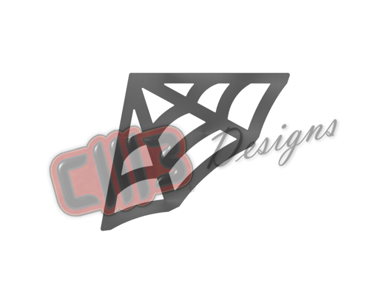 110deg Spider Web Roll Cage Gusset DXF Design