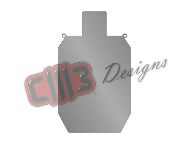IDPA Shooting Range Silhouette Target DXF designs