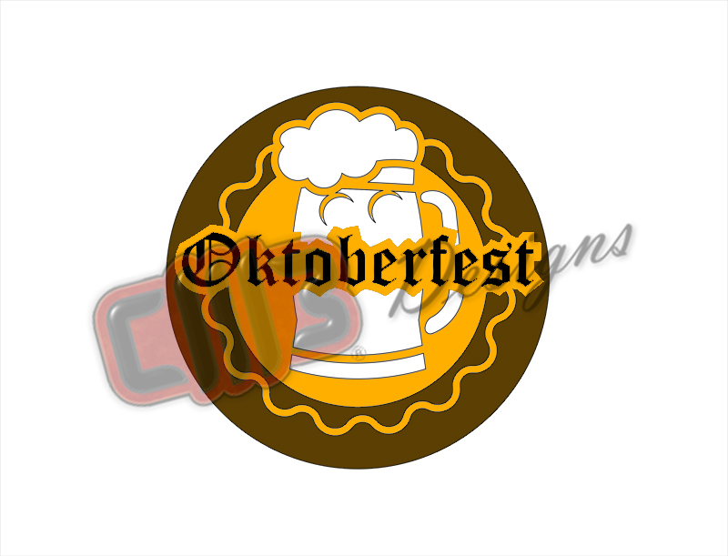 Oktoberfest Wall Art Design